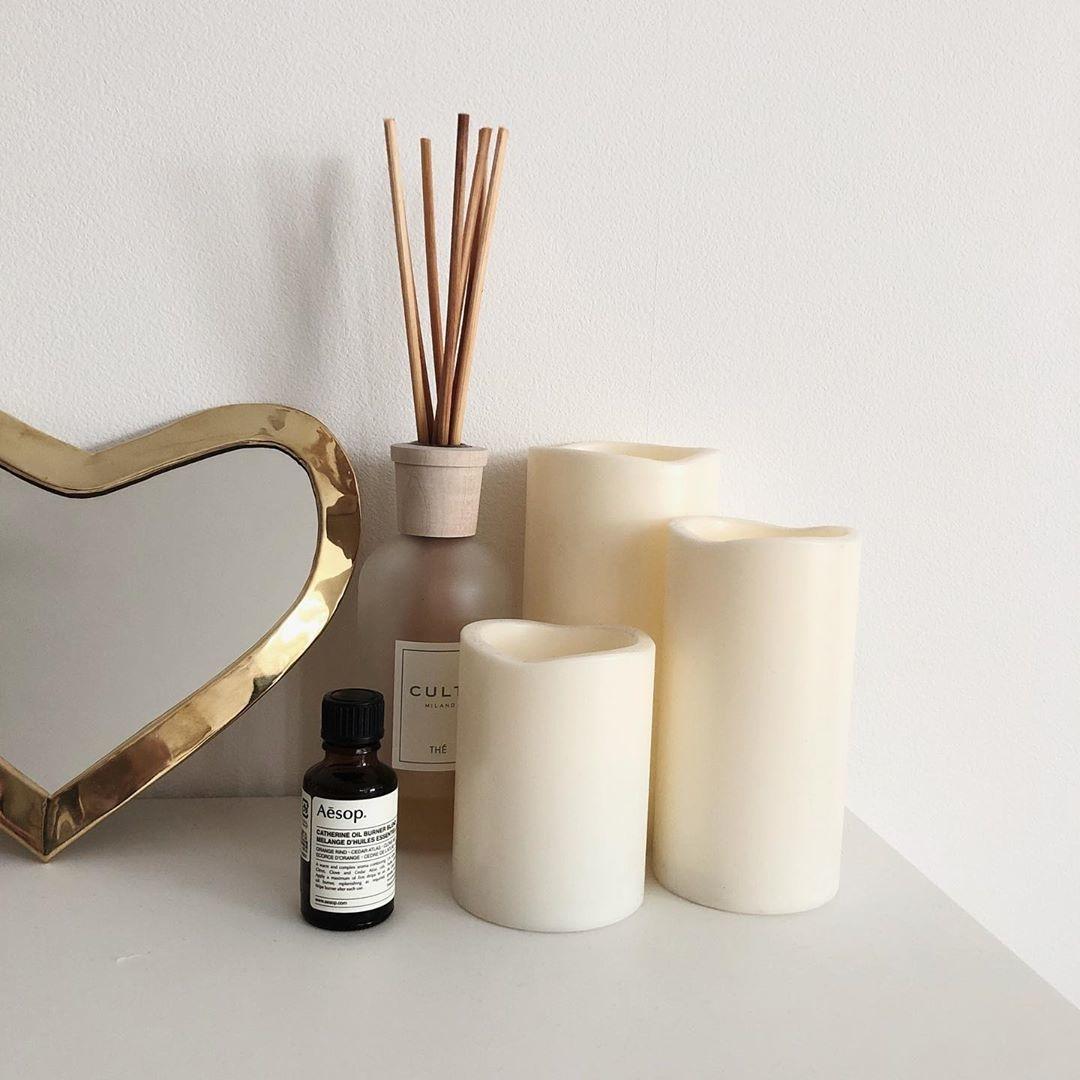 アロマオイルで香りを楽しむ方法も