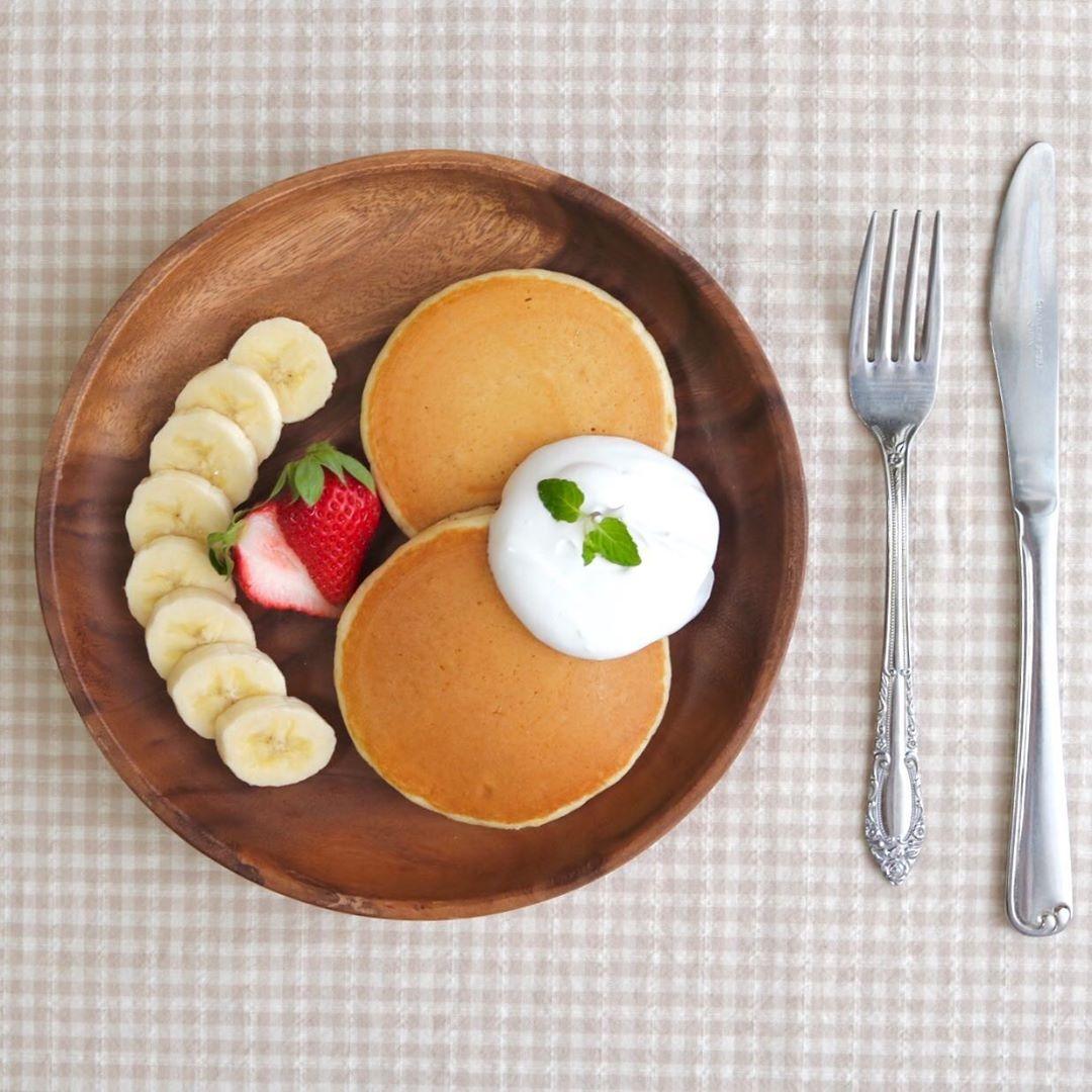 一日のスタートは、美味しい朝ごはんから♡