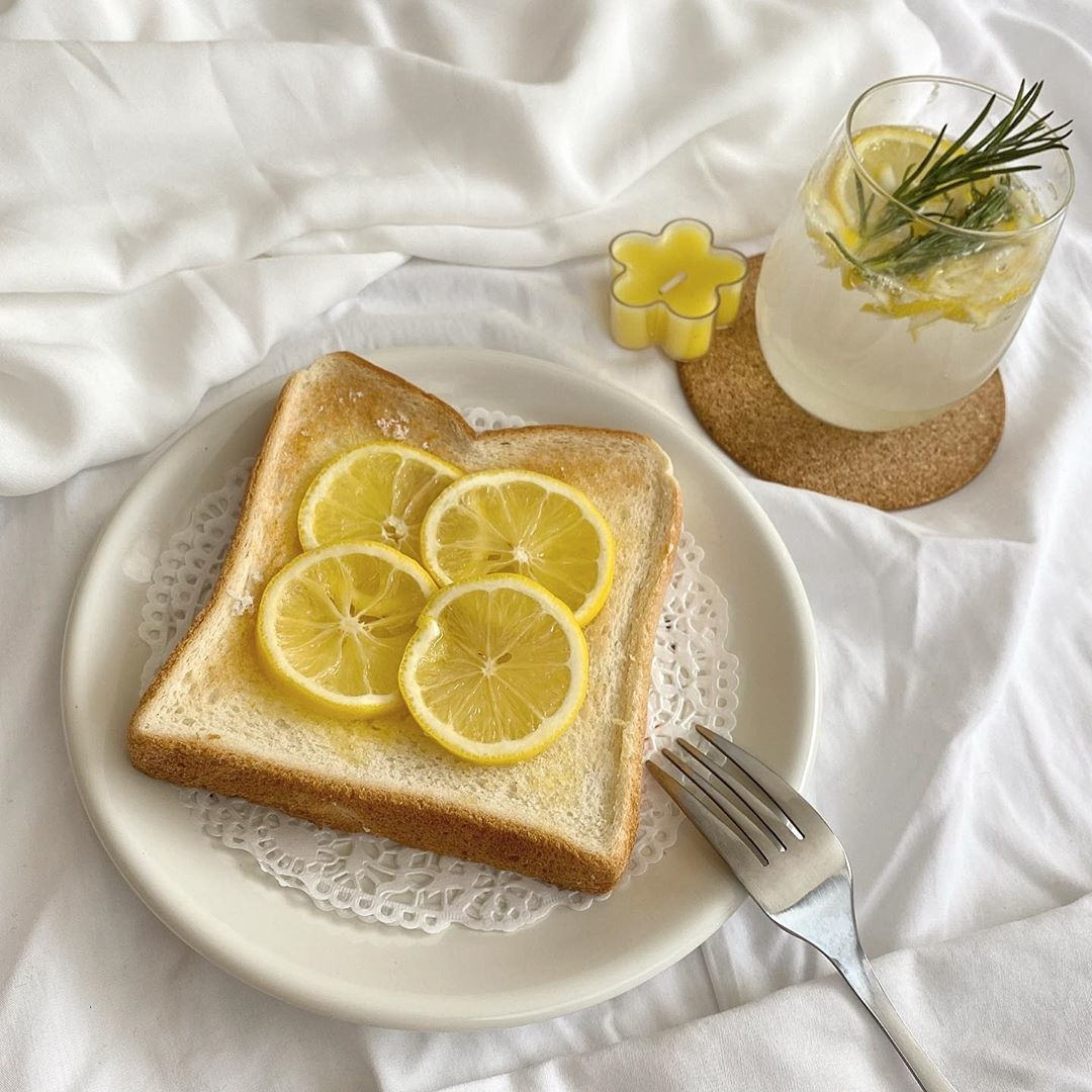 さっぱりレモントースト