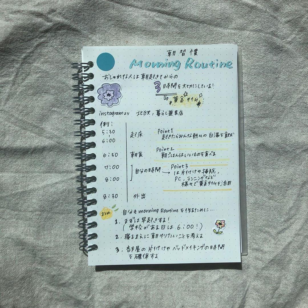 ノートの目的