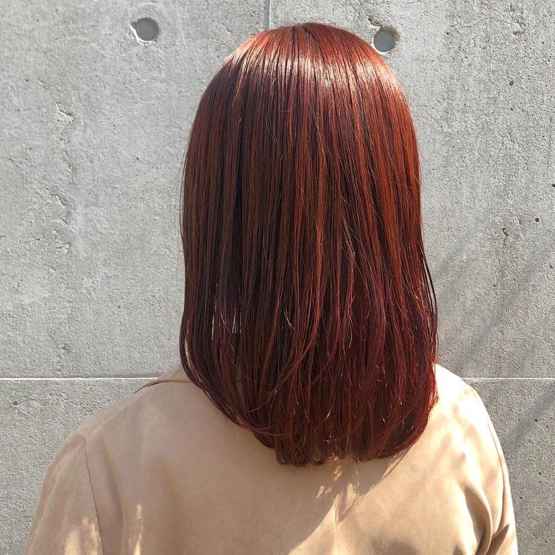 オレンジブラウン