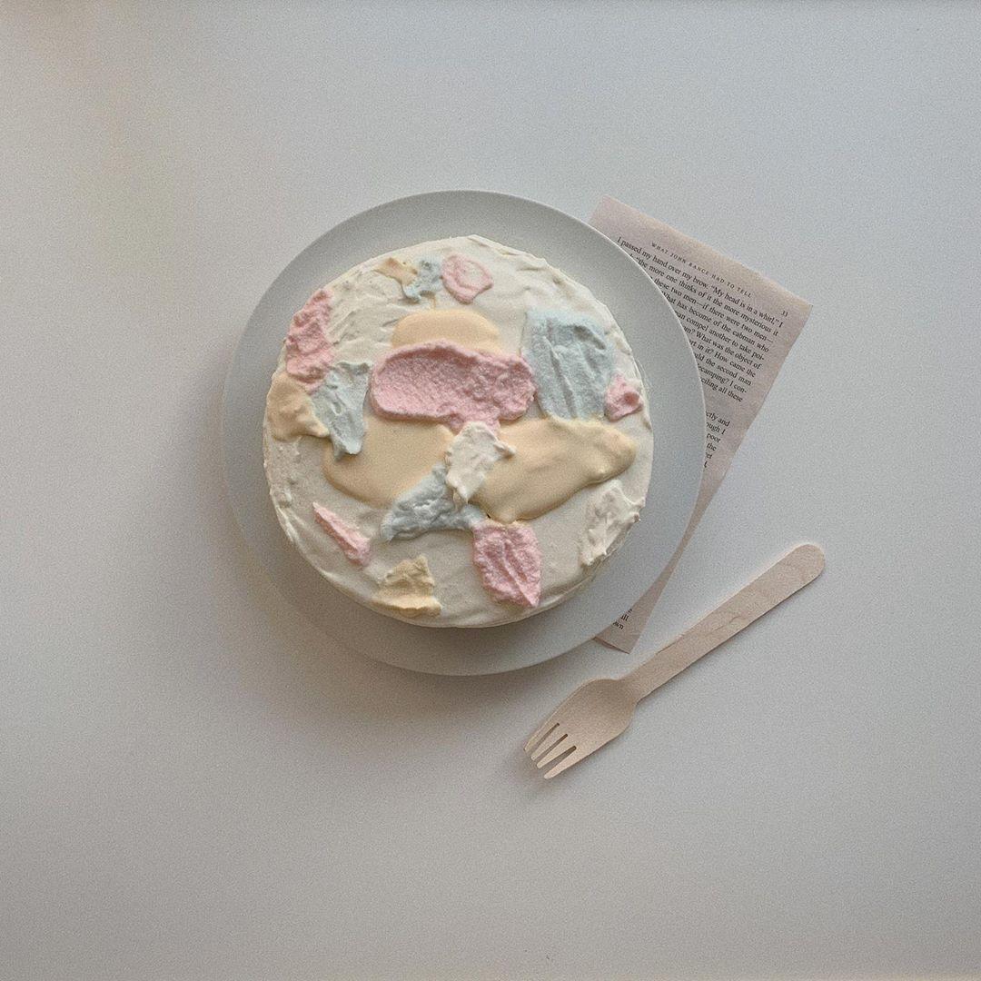 見本にしたい、素敵な手作りケーキ