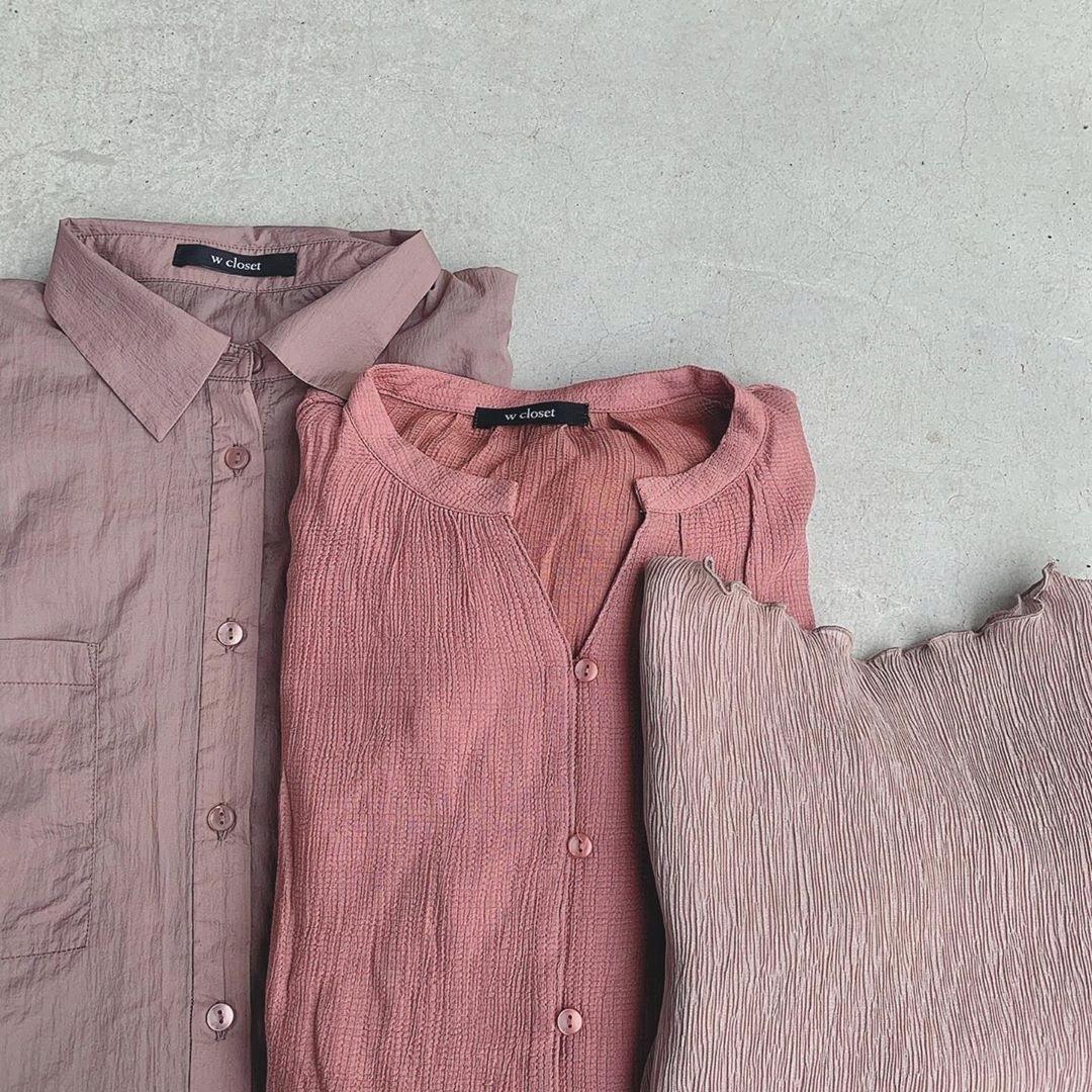 w closetのシャツ