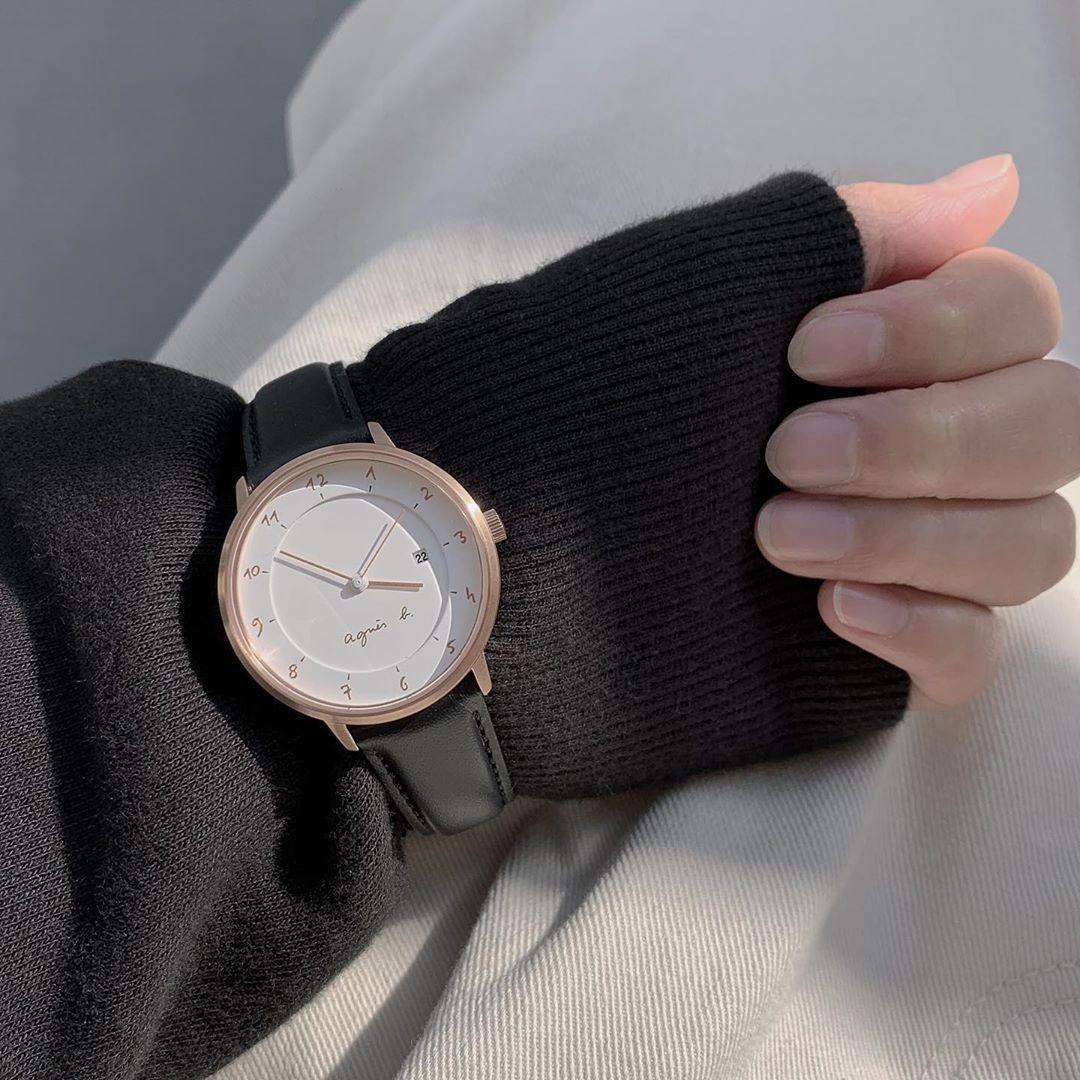 ③agnes b.の腕時計