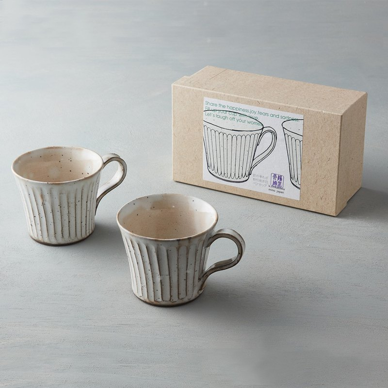 There is a kind of creativity - Japan Meinong - Powder embossed mark on the cup gift box group (2 pieces)
