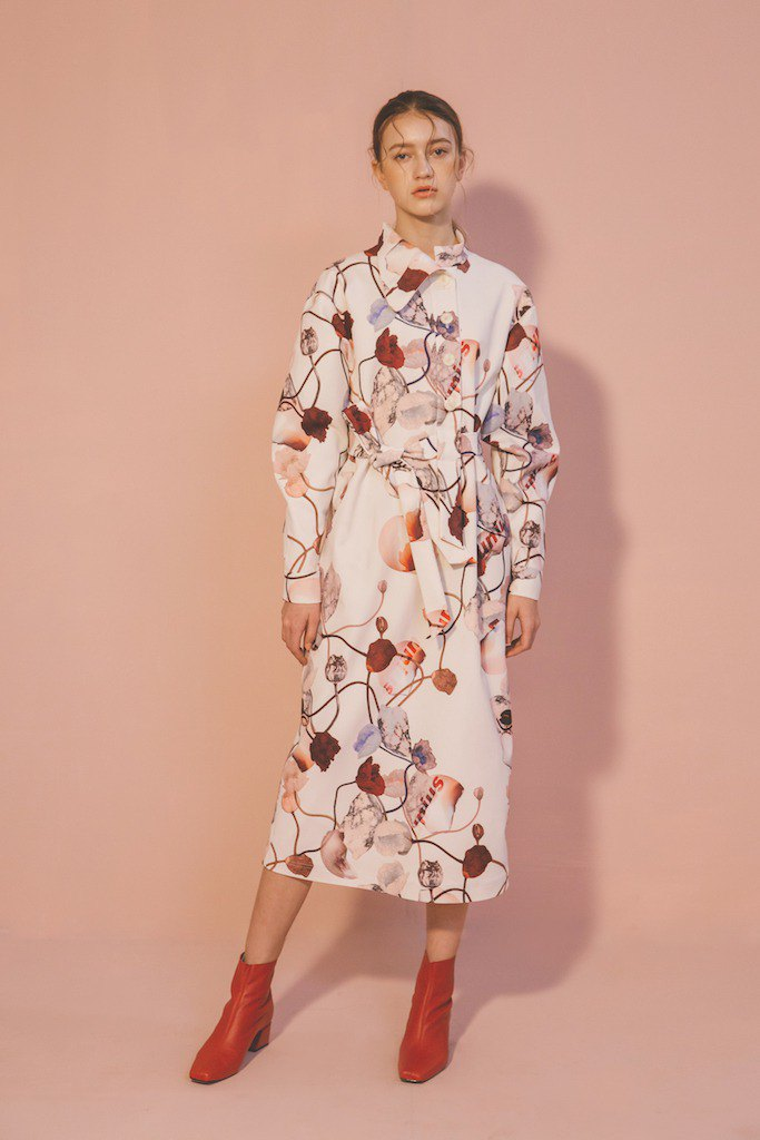 Iceland Poppy Dress