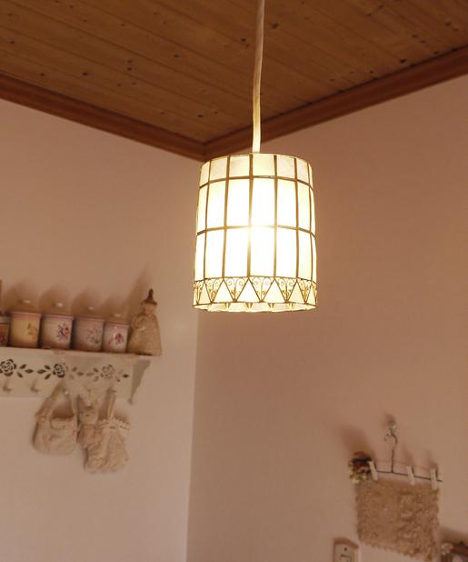 カピスハンギングランプ円筒