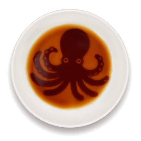 海鮮醤油皿 蛸