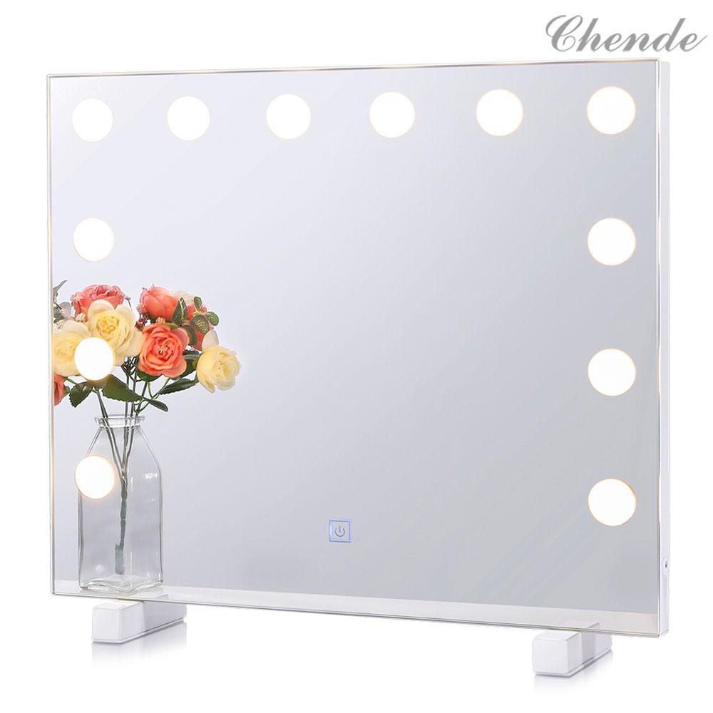 LED付き卓上鏡