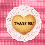 感謝の気持ちを伝えたい!Thank youカードに添えるクッキーレシピ