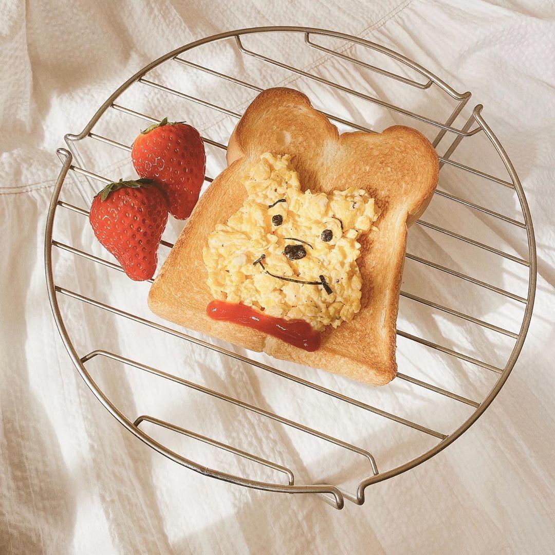 甘さもしょっぱさも、可愛く表現。キャラトーストで、食卓を楽しくしてみて
