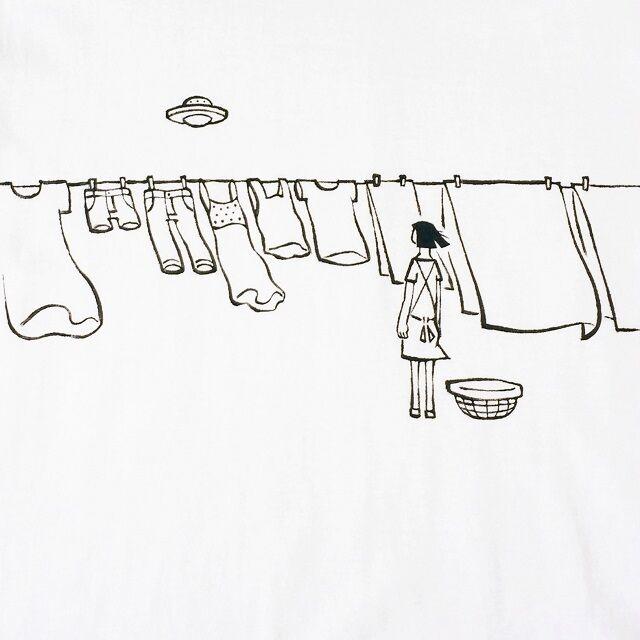 洗濯物を取り込む時に特に注意する
