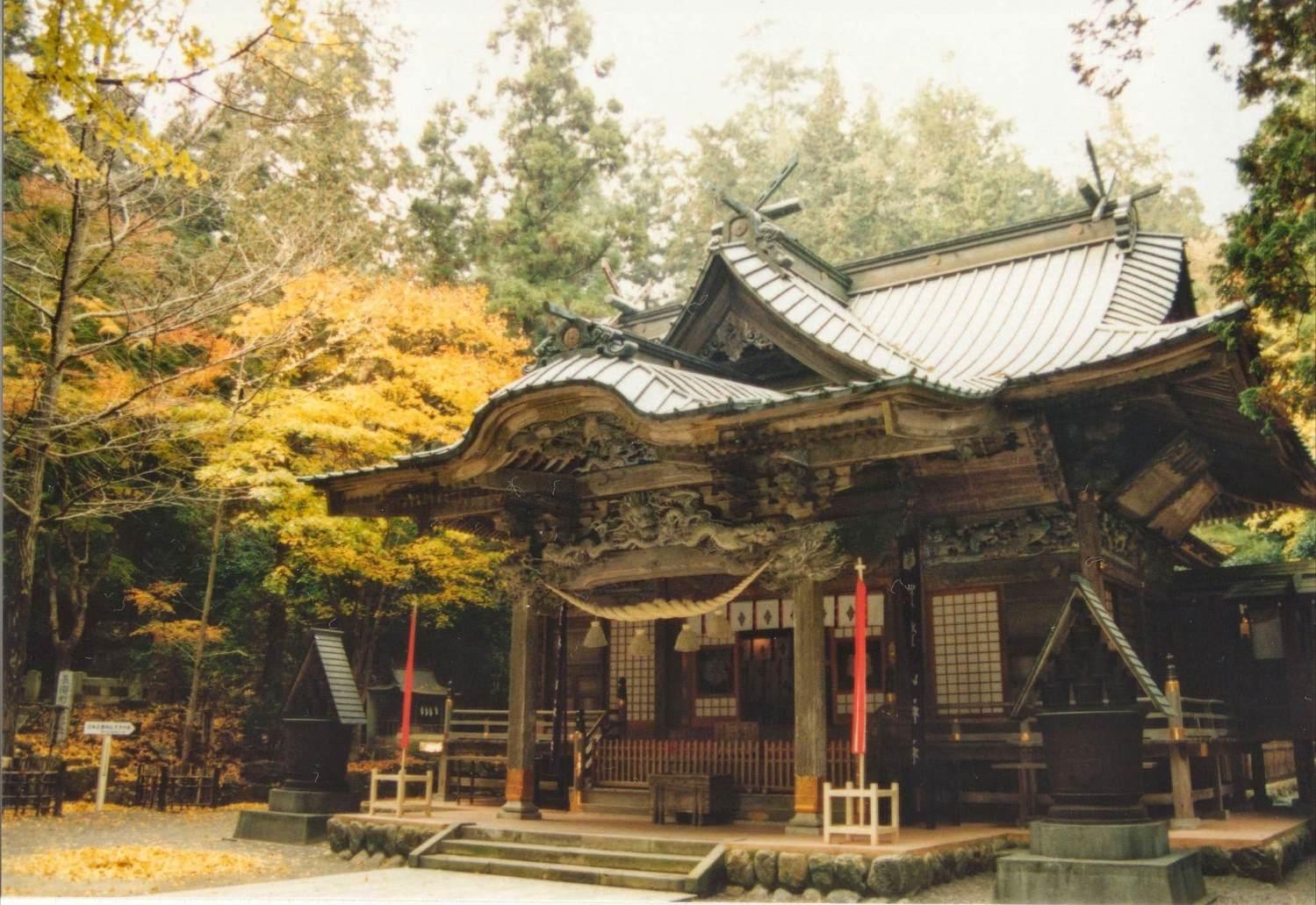 秩父三社の1つ | 寶登山神社