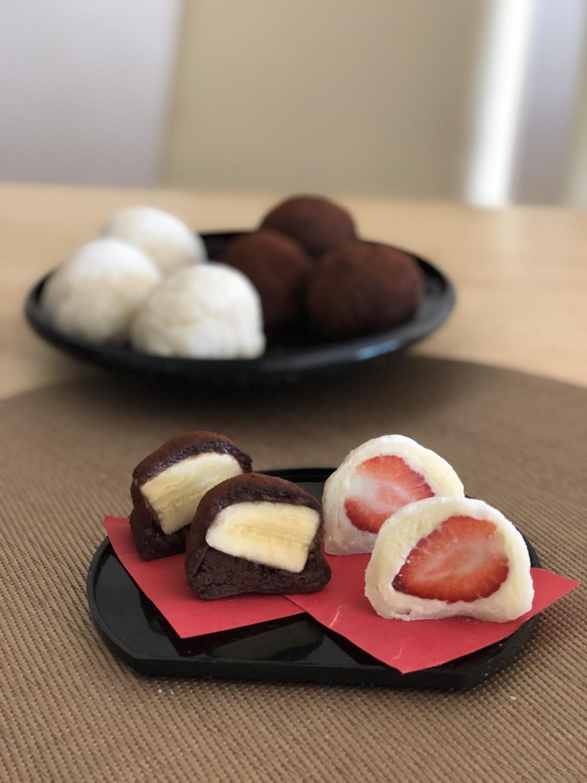 応用してチョコ大福を作るのもオススメ