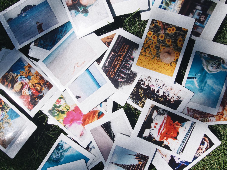 >チェキや写真はアルバムへgo