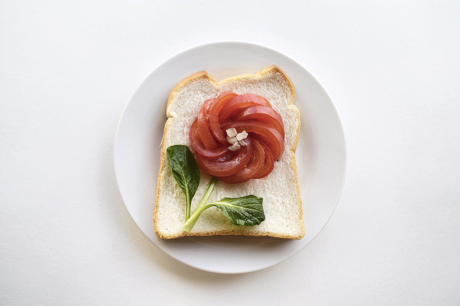 #お花トースト にキュン♡