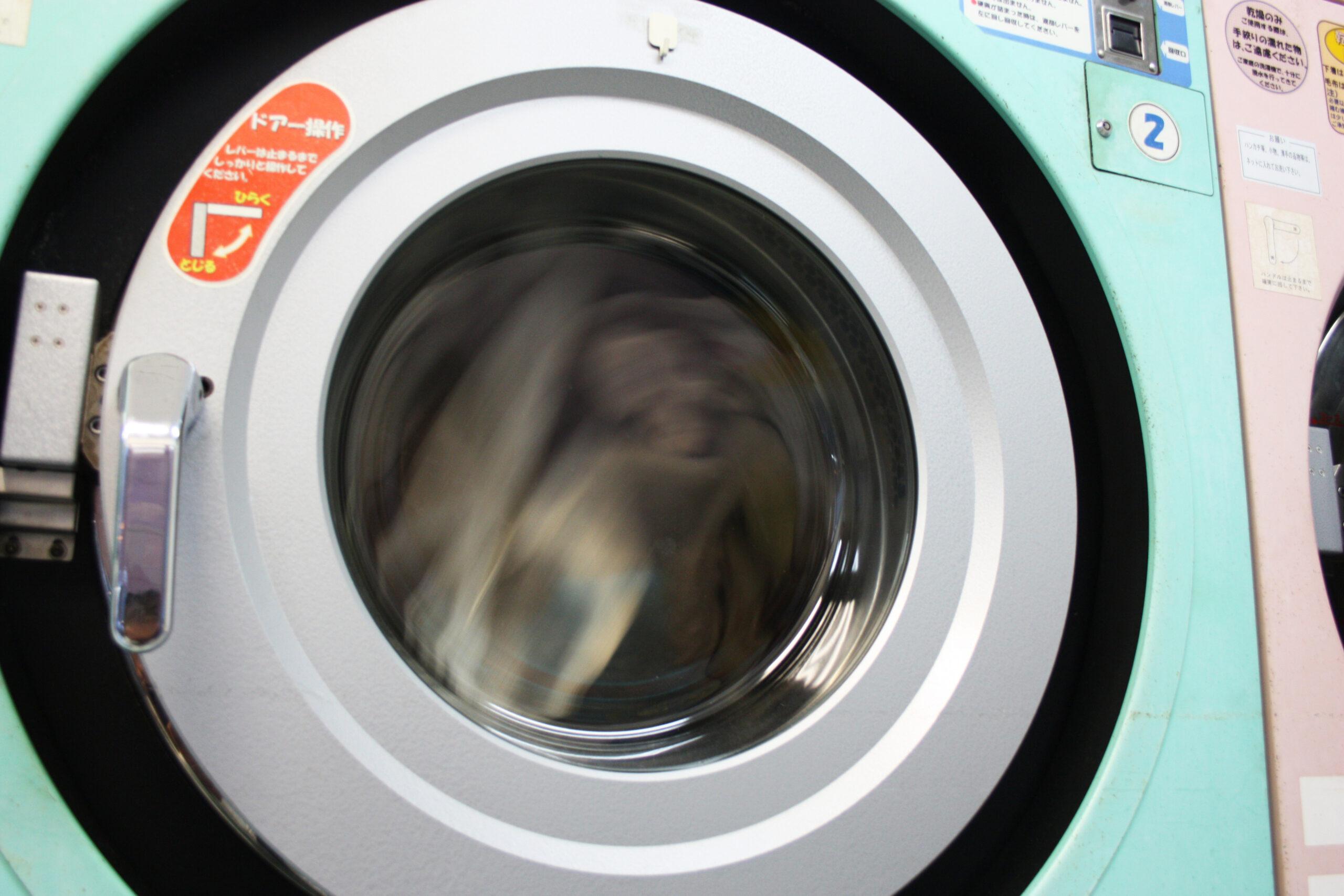 乾燥機を活用して干す場所をカット