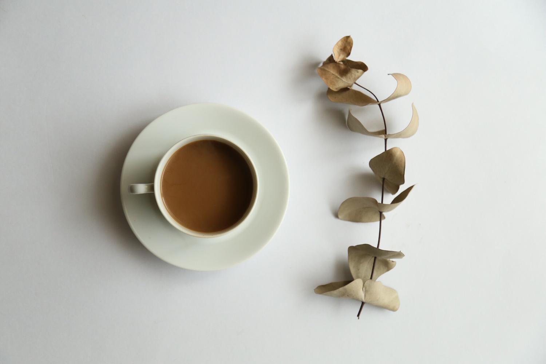 :心が落ち着く紅茶を準備: