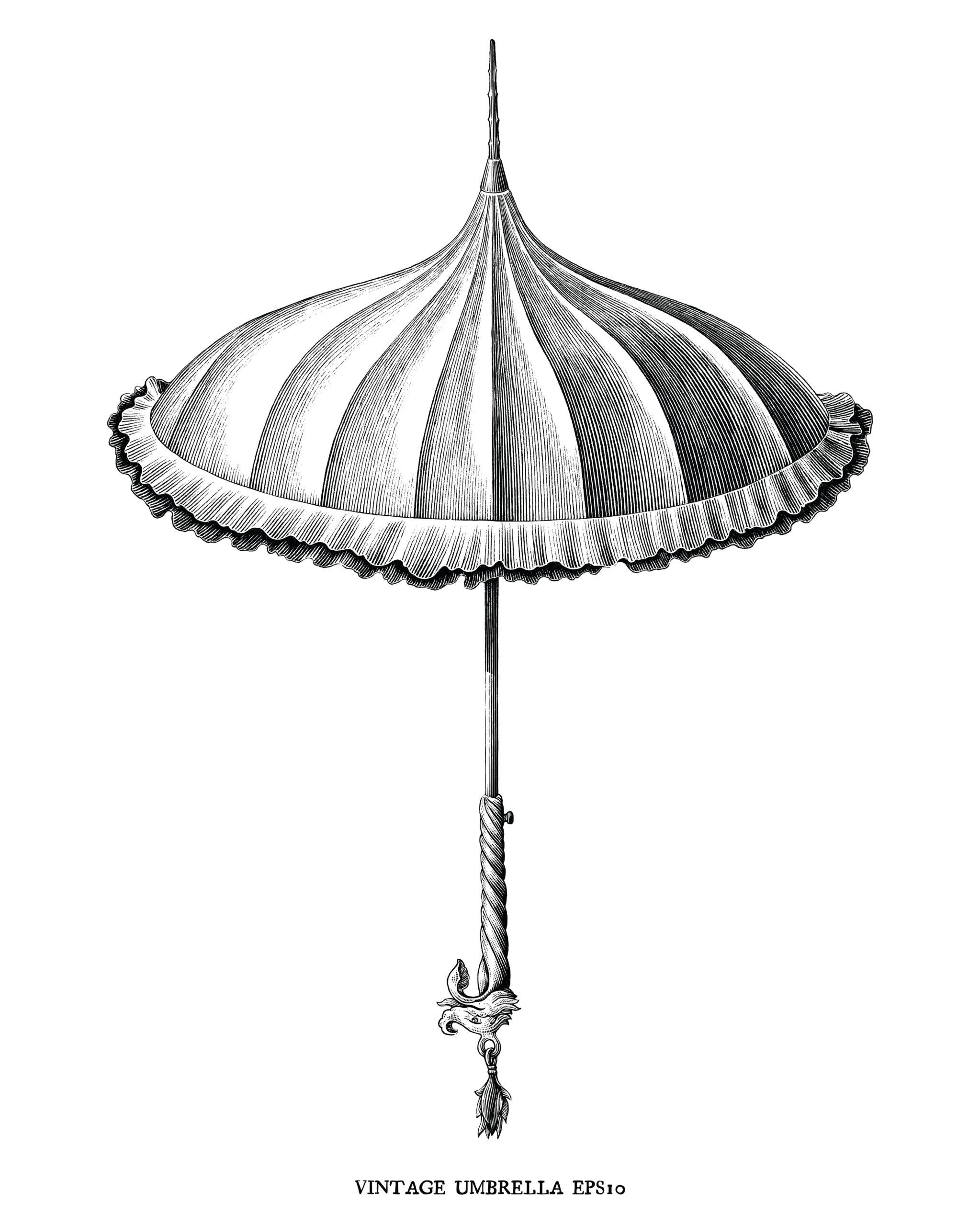 パゴダ傘の特徴って?