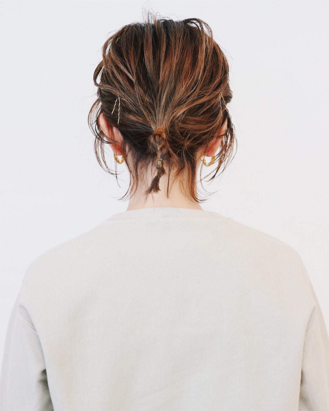 4|落ちた後れ毛を、いっそのこと可愛く♡
