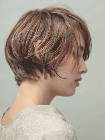 見える首筋がpoint|ショートヘア