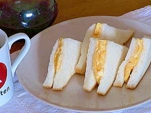 「大阪の喫茶店」のたまごサンドイッチ