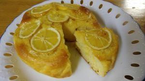 簡単!ホットケーキミックスではちみつレモンケーキ♪