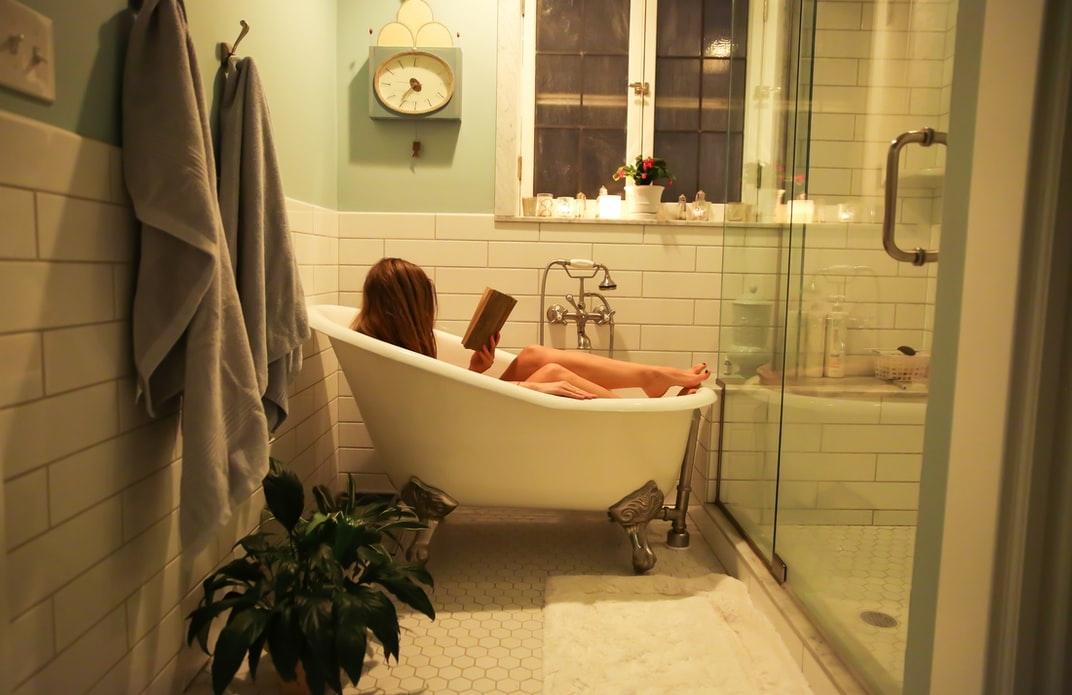 20:00 お風呂timeでは賢く疲労回復!