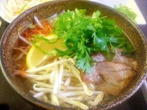 Vietnamese☆フォーサーシュ(豚肉フォー)