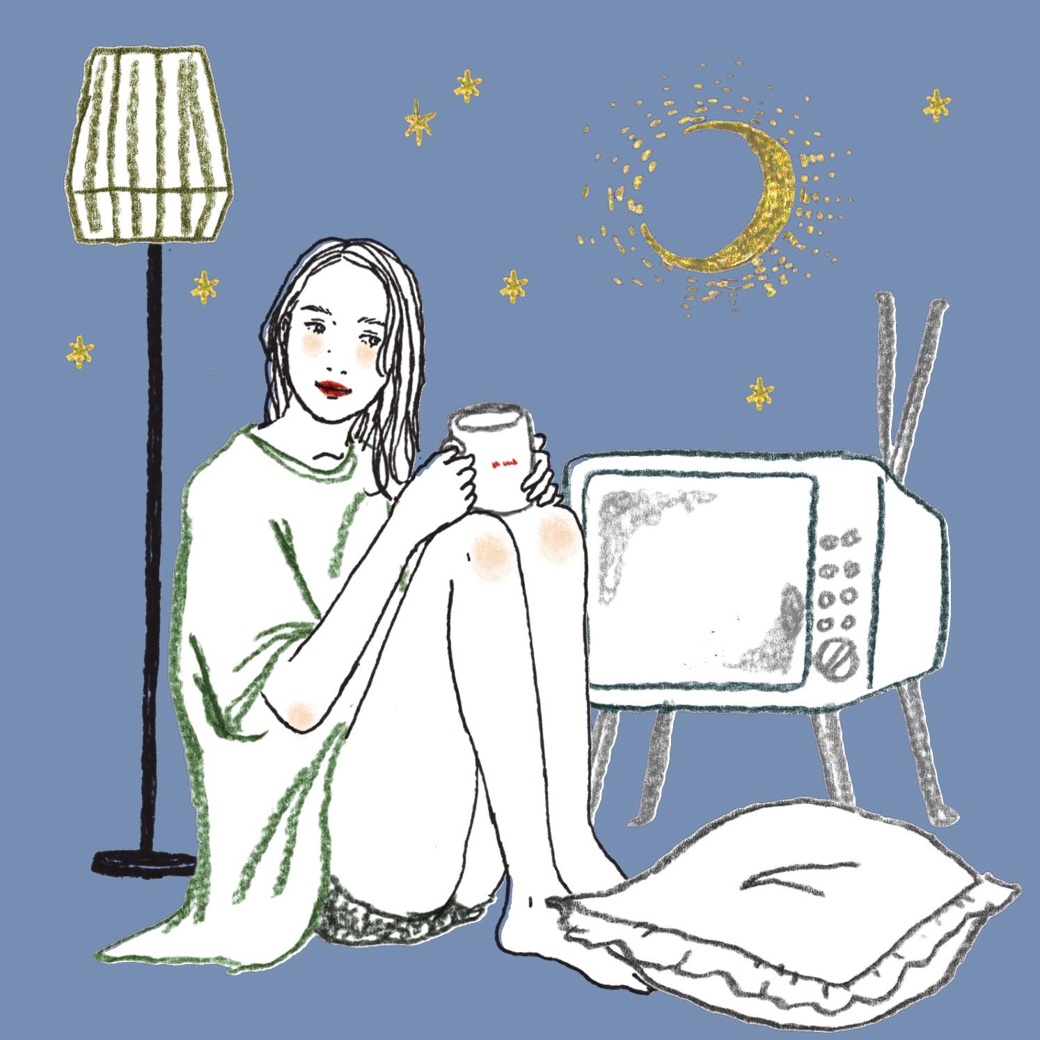 Q:夜楽しみにしているテレビ番組は次のうちどれですか?