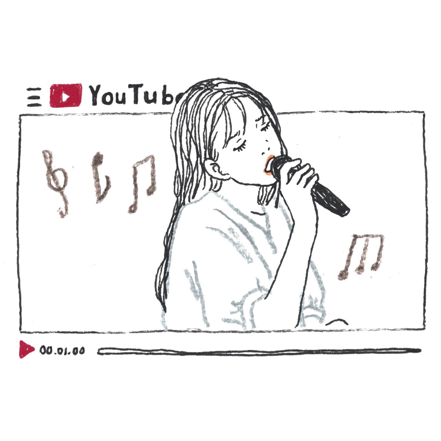 B:好きなアーティストの動画