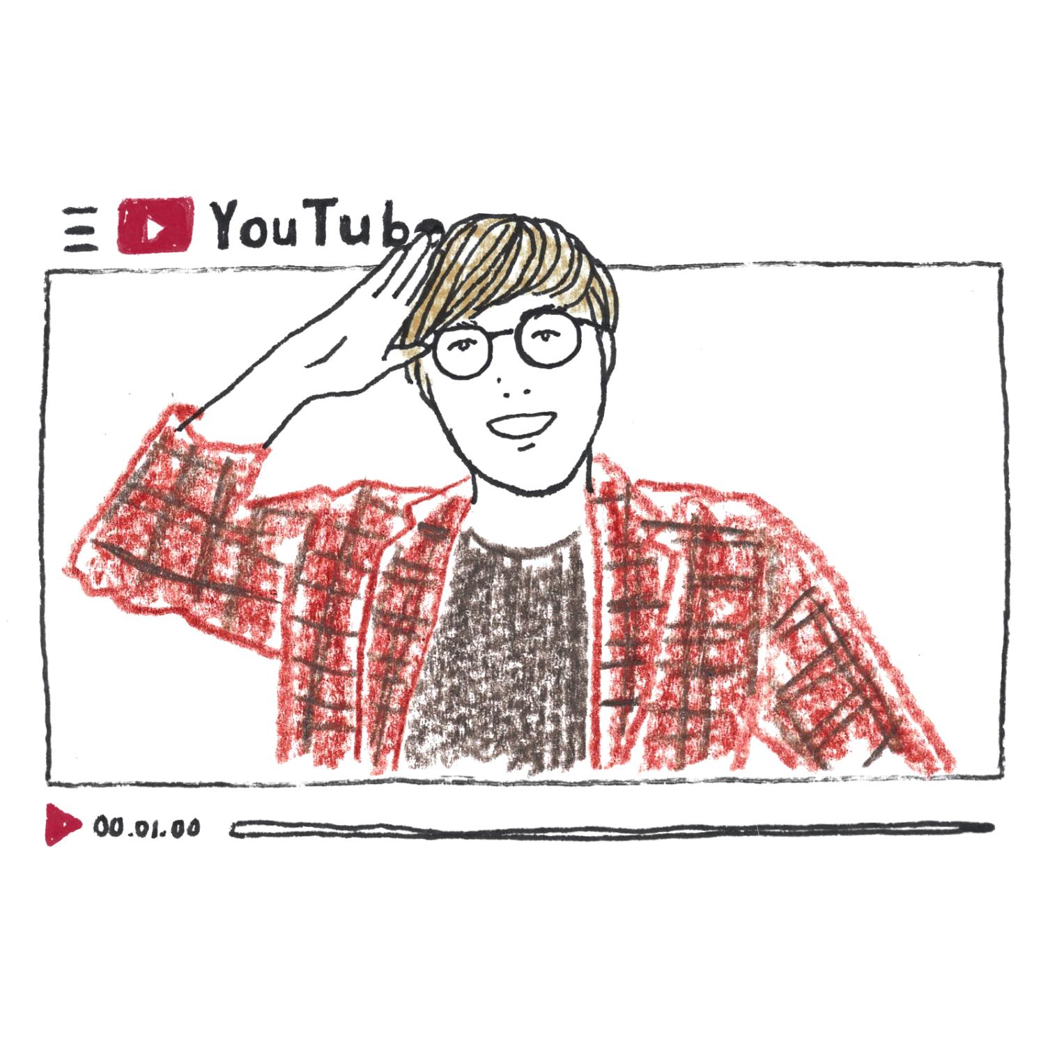 A:人気ユーチューバーの動画