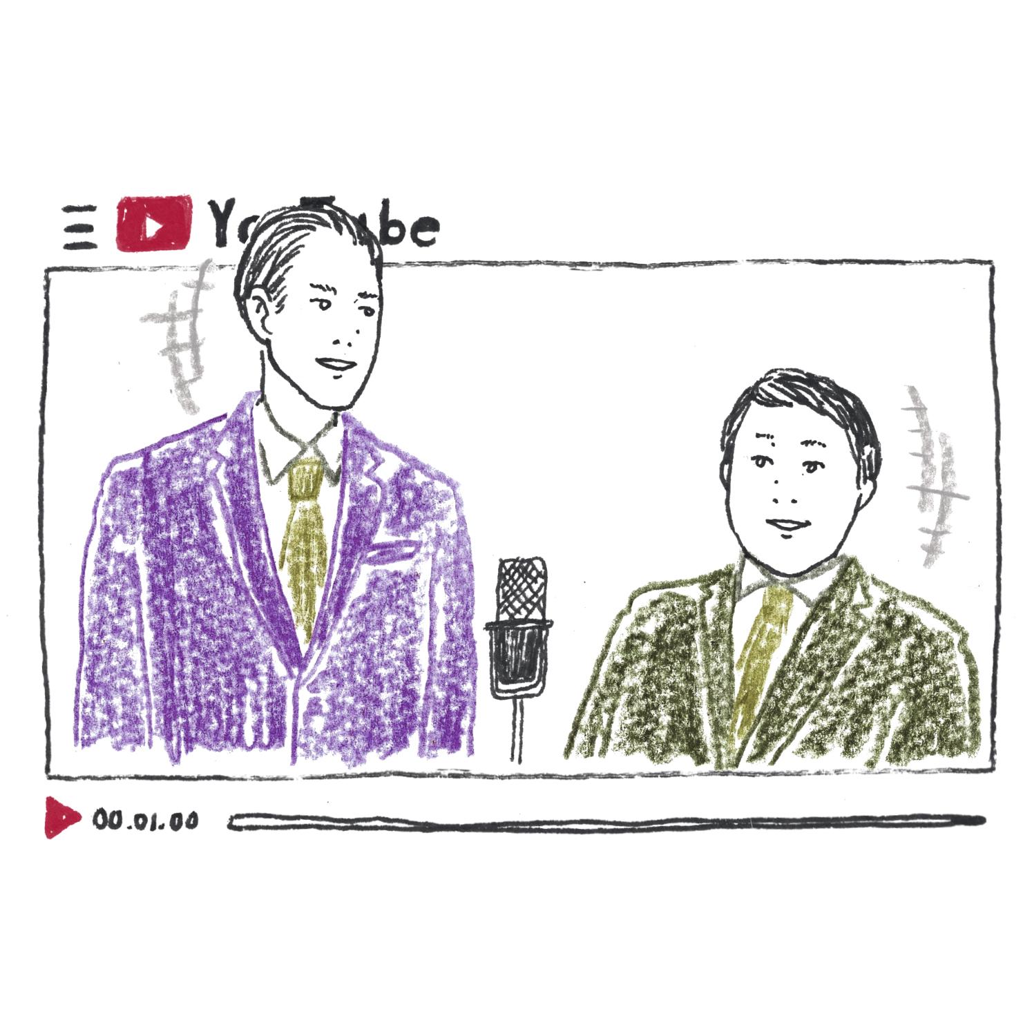 D:お笑いの動画