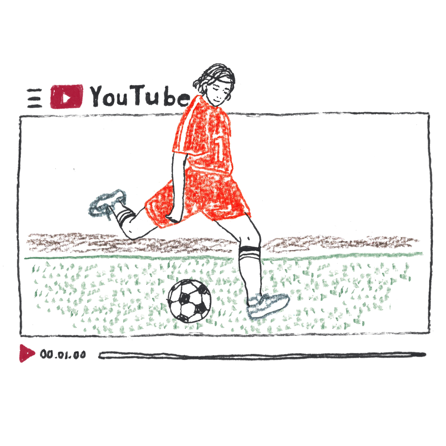 C:スポーツ中継の動画