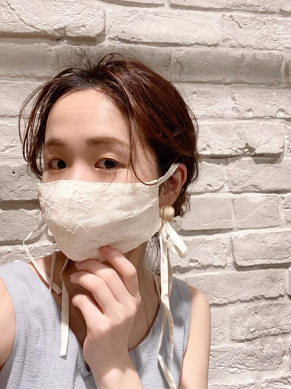 マスクもオシャレに楽しもう♡
