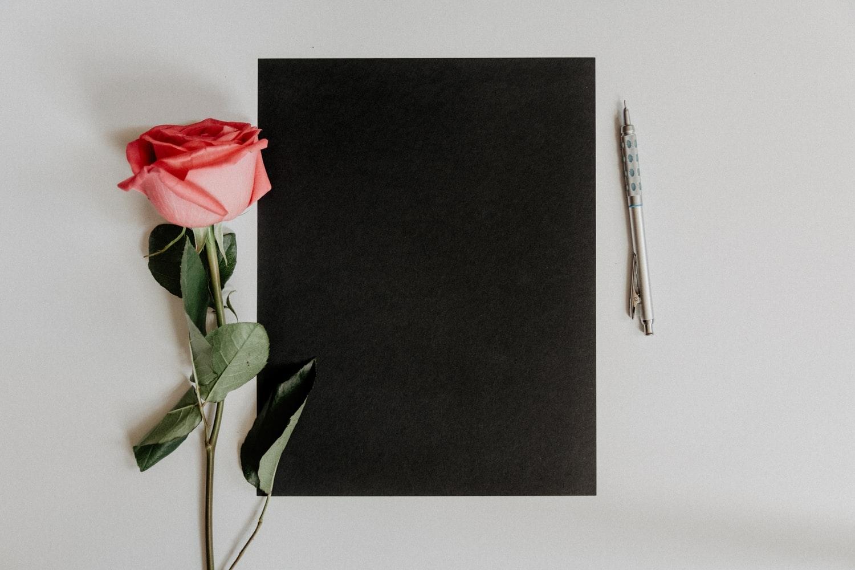 ○願いを込めて描くシャーペンハート