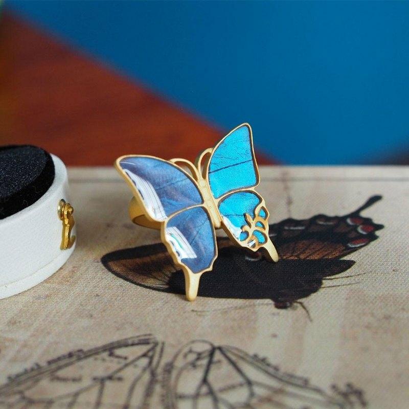 モルフォ蝶のブルーを、私も…