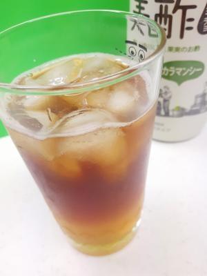 美酢&紅茶♪(^^)カラマンシーアイスティー♪