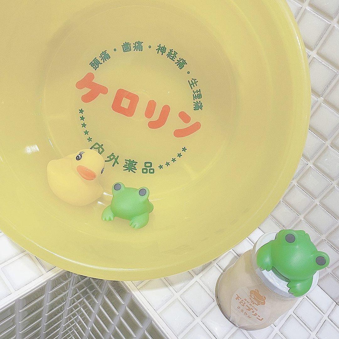 洗いながら足湯でポカポカ♡