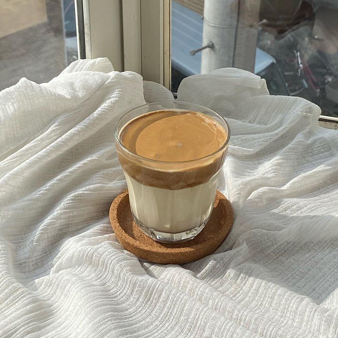一緒にタルゴナコーヒーも作ってみて