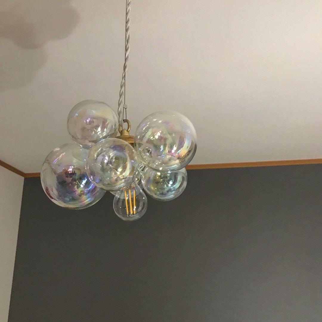 『LAND』で人気のバブルランプ