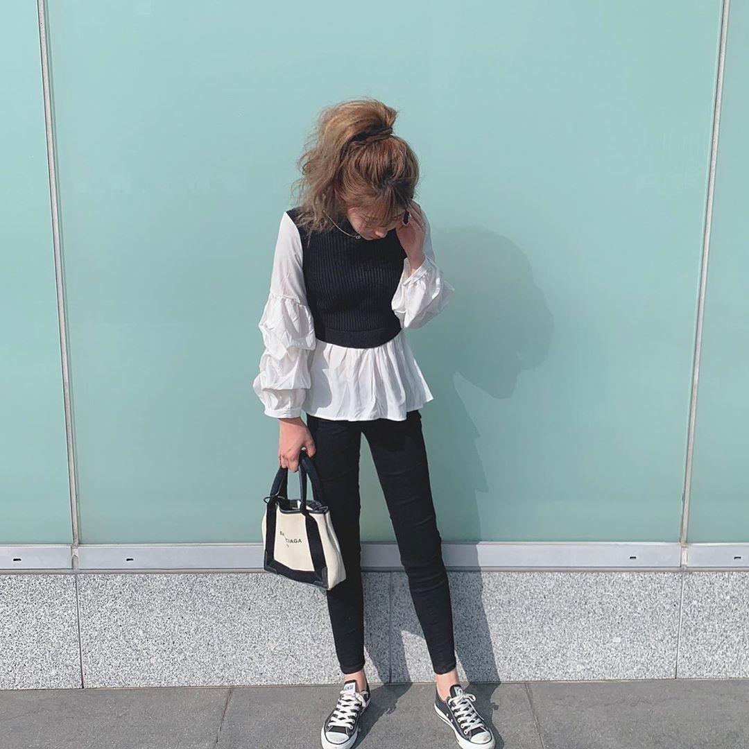 黒×白でモノトーンに