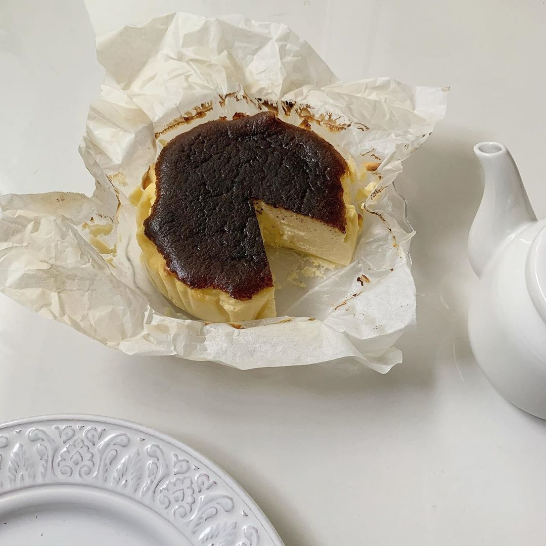 バスクチーズケーキの味わい