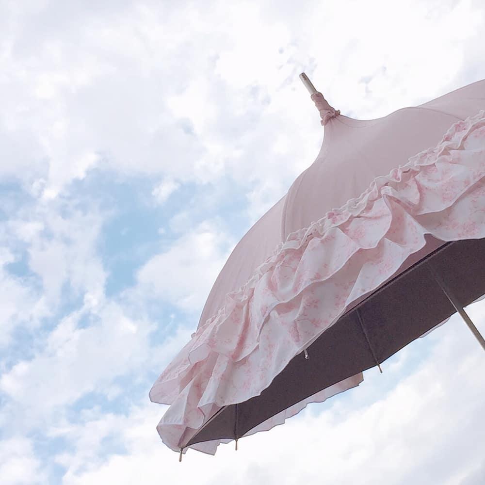 映画で見たような、あの傘