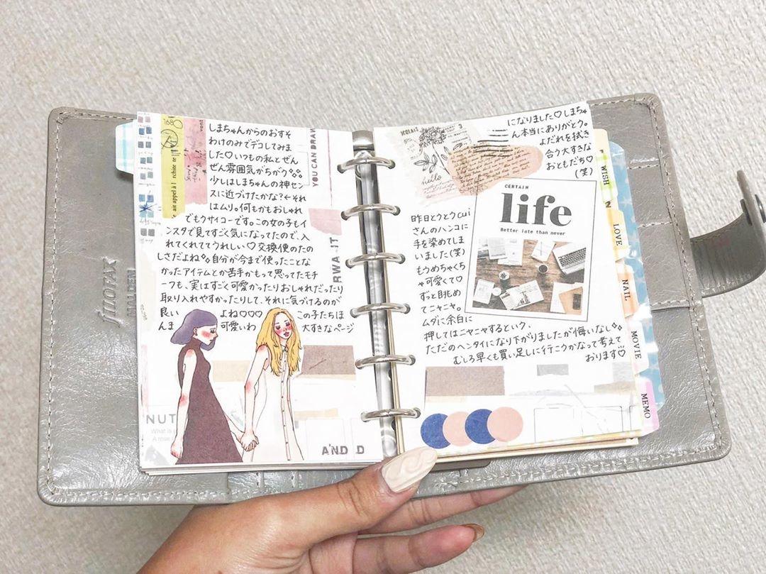 日々の出来事を記録して:日記