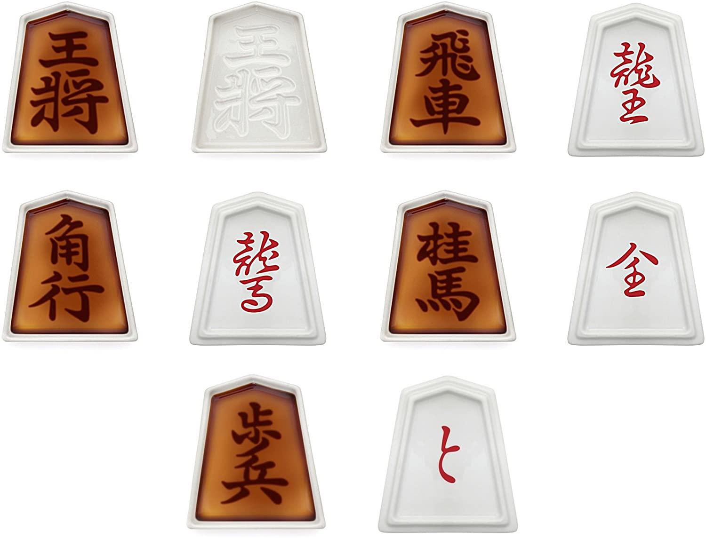 将棋駒 醤油皿 5種セット