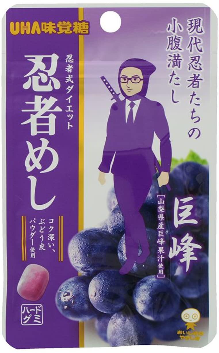 UHA味覚糖 忍者めし 巨峰味(20g×10袋)