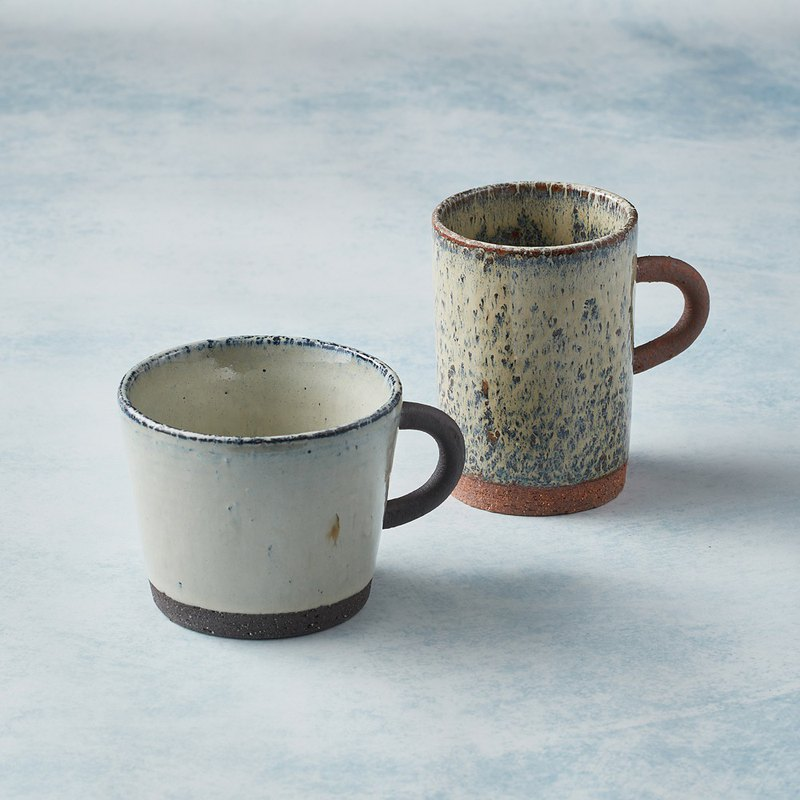 Round Handle Mug - Pair of Cups (4 out of 2)