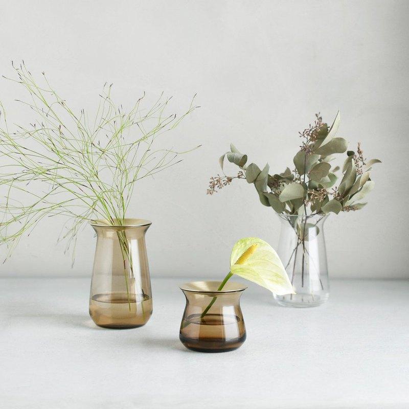 Japanese KINTO LUNA glass vase / 4 models