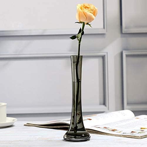 ガラス製 花瓶 一輪挿し